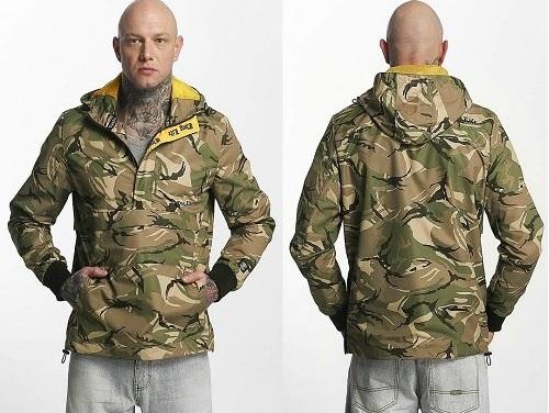 Thug Life Lättviktsjacka Threat kamouflage